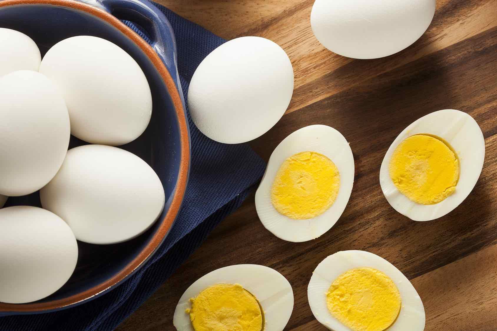 halkaistut munat